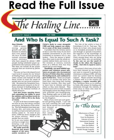 Fall 1996 Issue