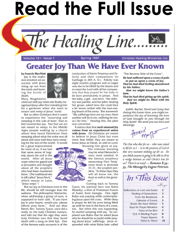 Spring 1997 Issue