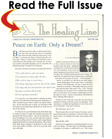 Winter 2001 Issue