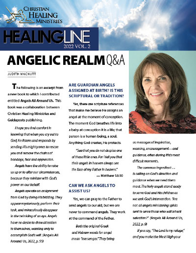 Current issue of Healing Line
