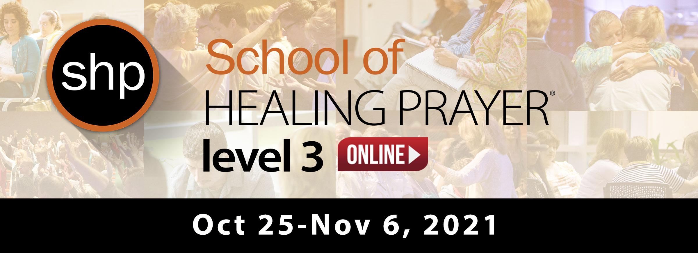 SHP Level 3 Online Oct 2021
