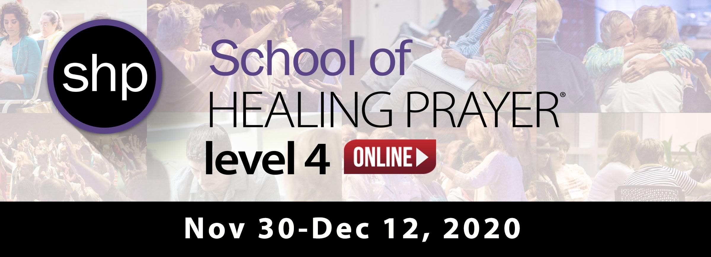 SHP Level 4 Online Nov 2020